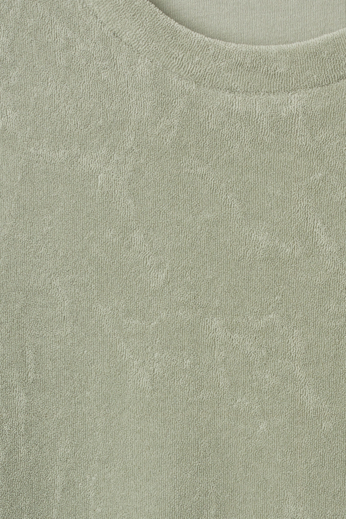 Detailed image of Weekday towel t-shirt in green