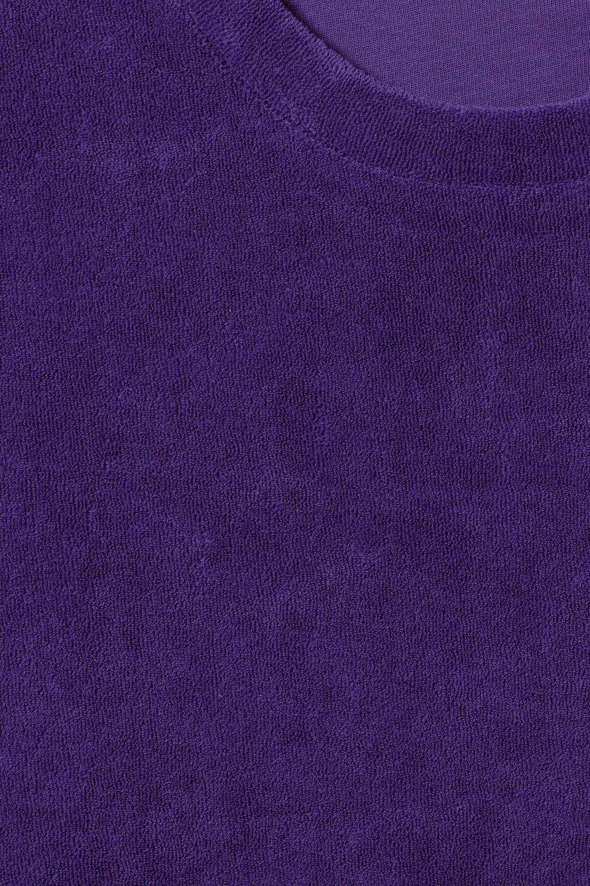 Detailed image of Weekday towel t-shirt in purple