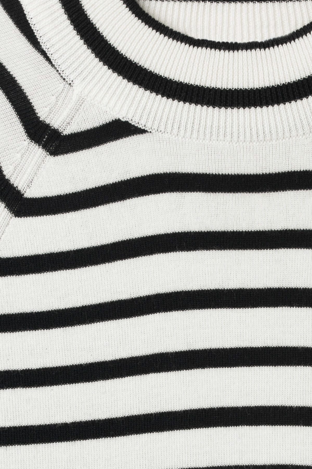Detailed image of Weekday true sweater in white