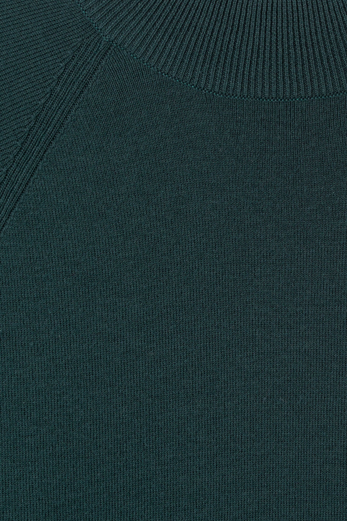 Detailed image of Weekday true sweater in turquoise