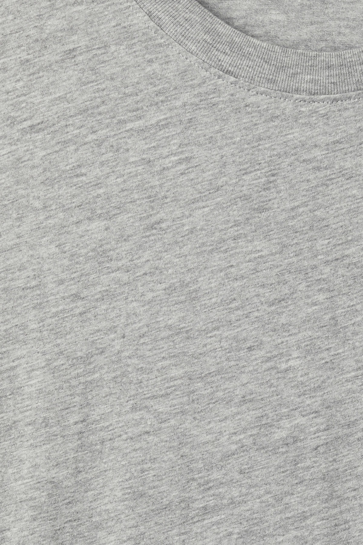 Detailed image of Weekday lille long t-shirts in grey