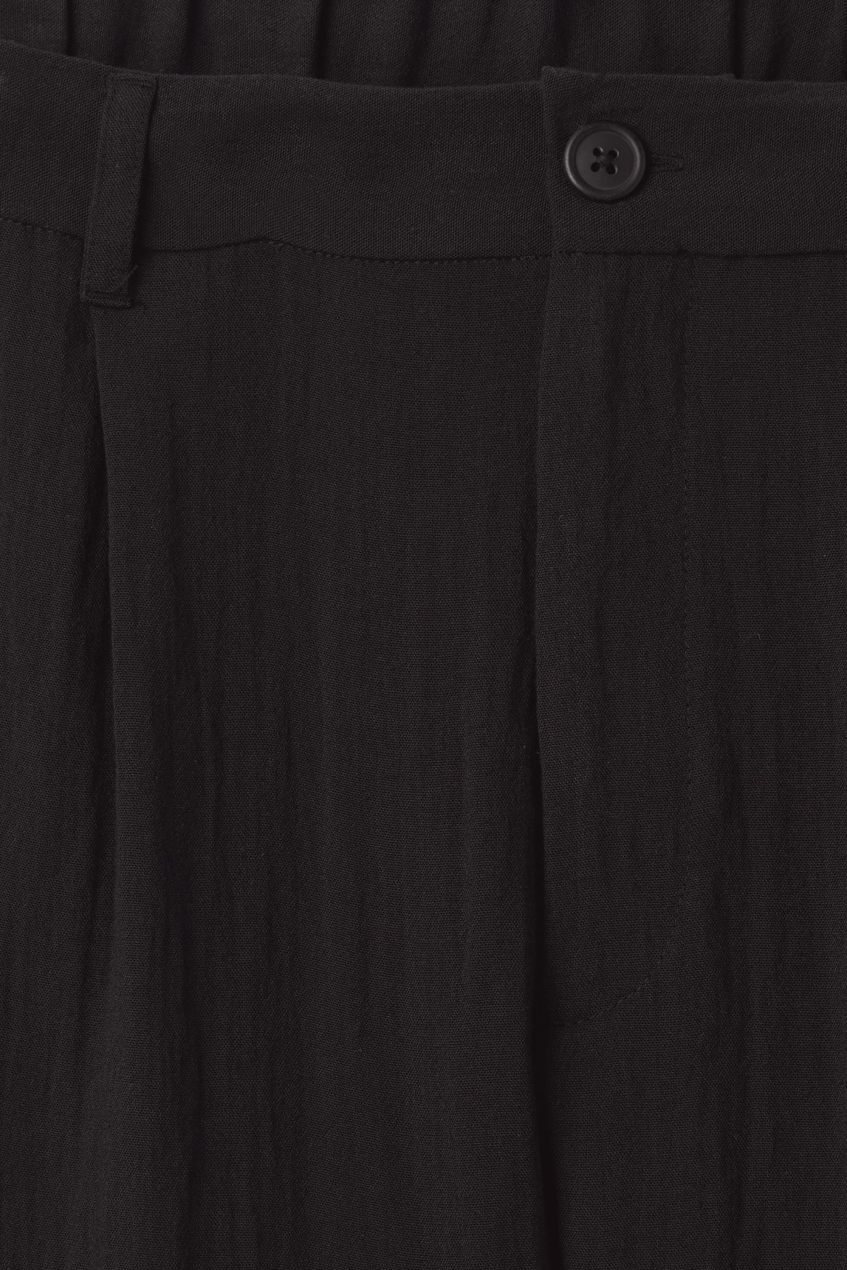 Detailed image of Weekday largo trousers in black