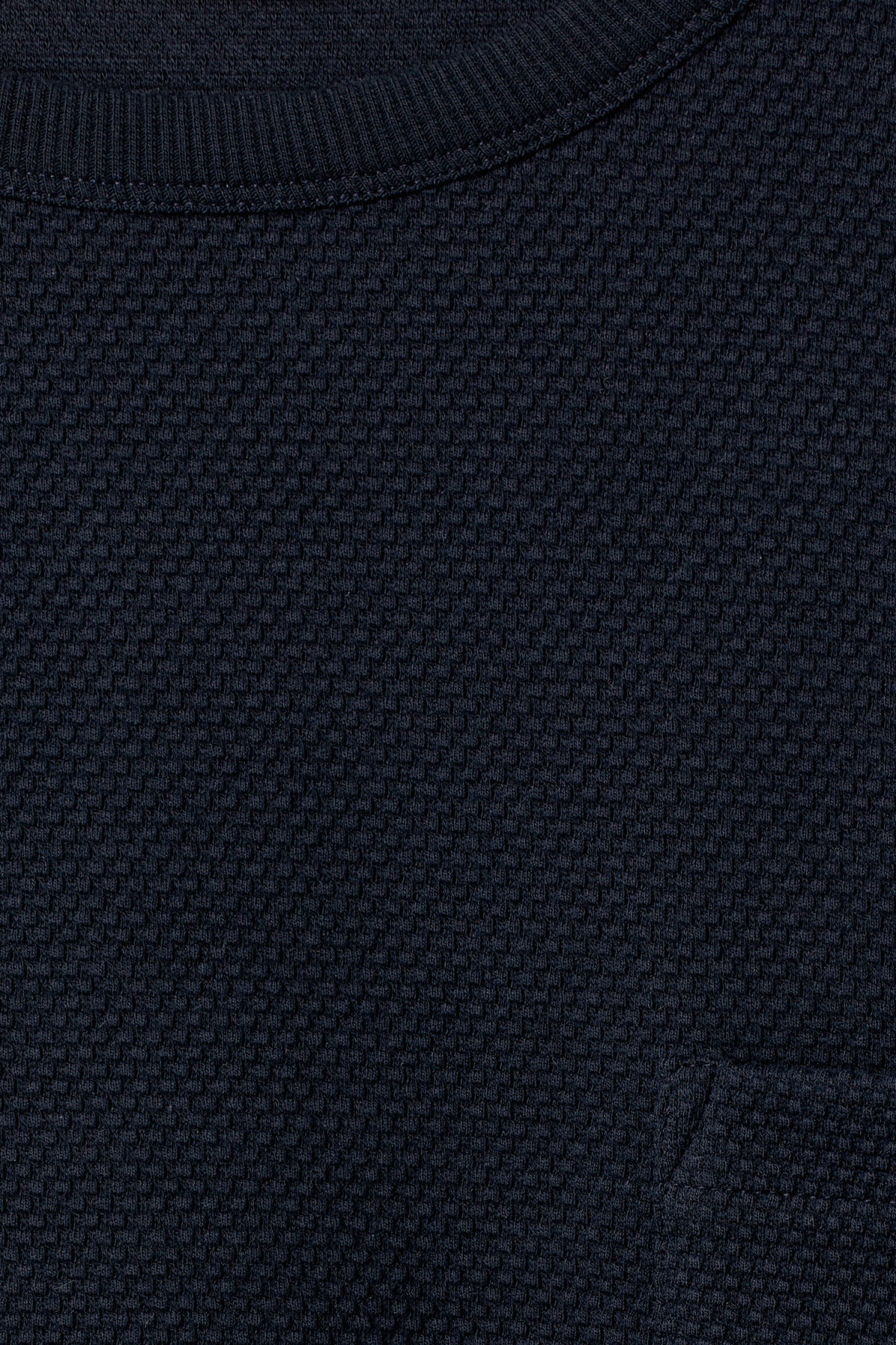 Detailed image of Weekday hopper struct long sleeve in blue