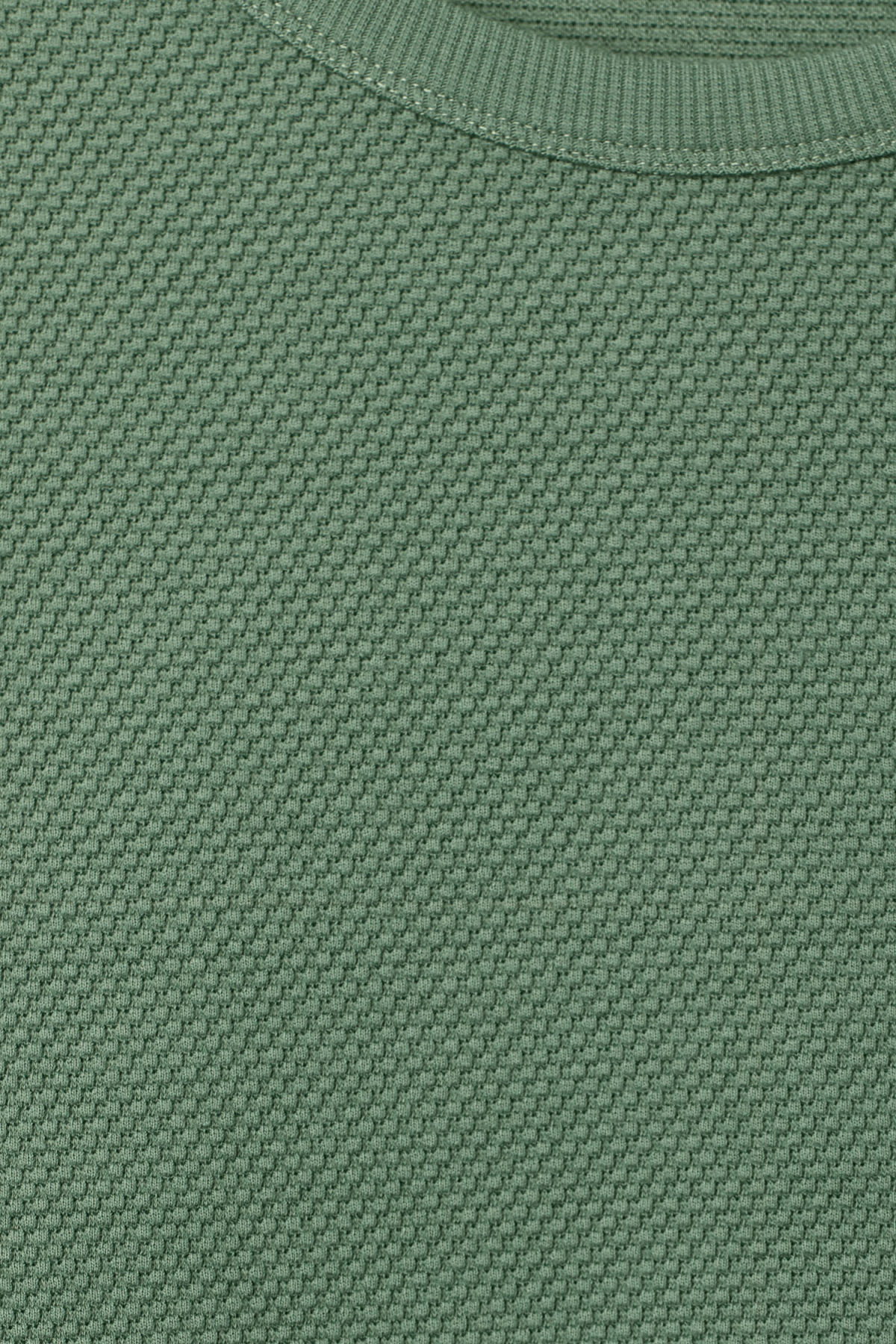 Detailed image of Weekday hopper struct long sleeve in green
