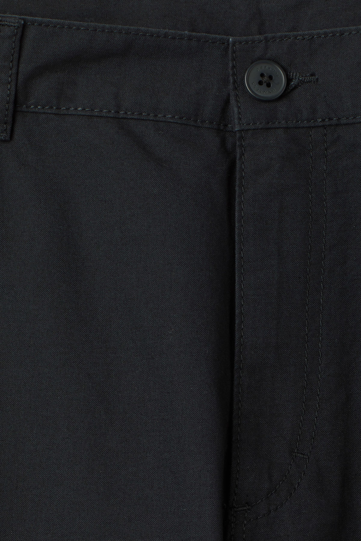 Detailed image of Weekday craft pocket trousers in blue