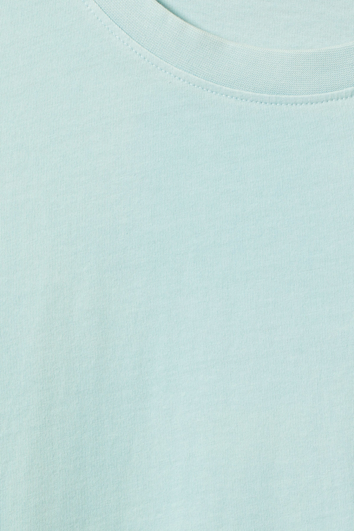 Detailed image of Weekday heat t-shirt in green