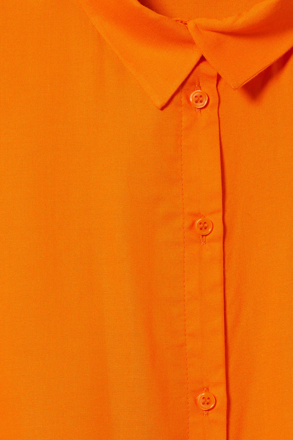 Detailed image of Weekday groove blouse in orange