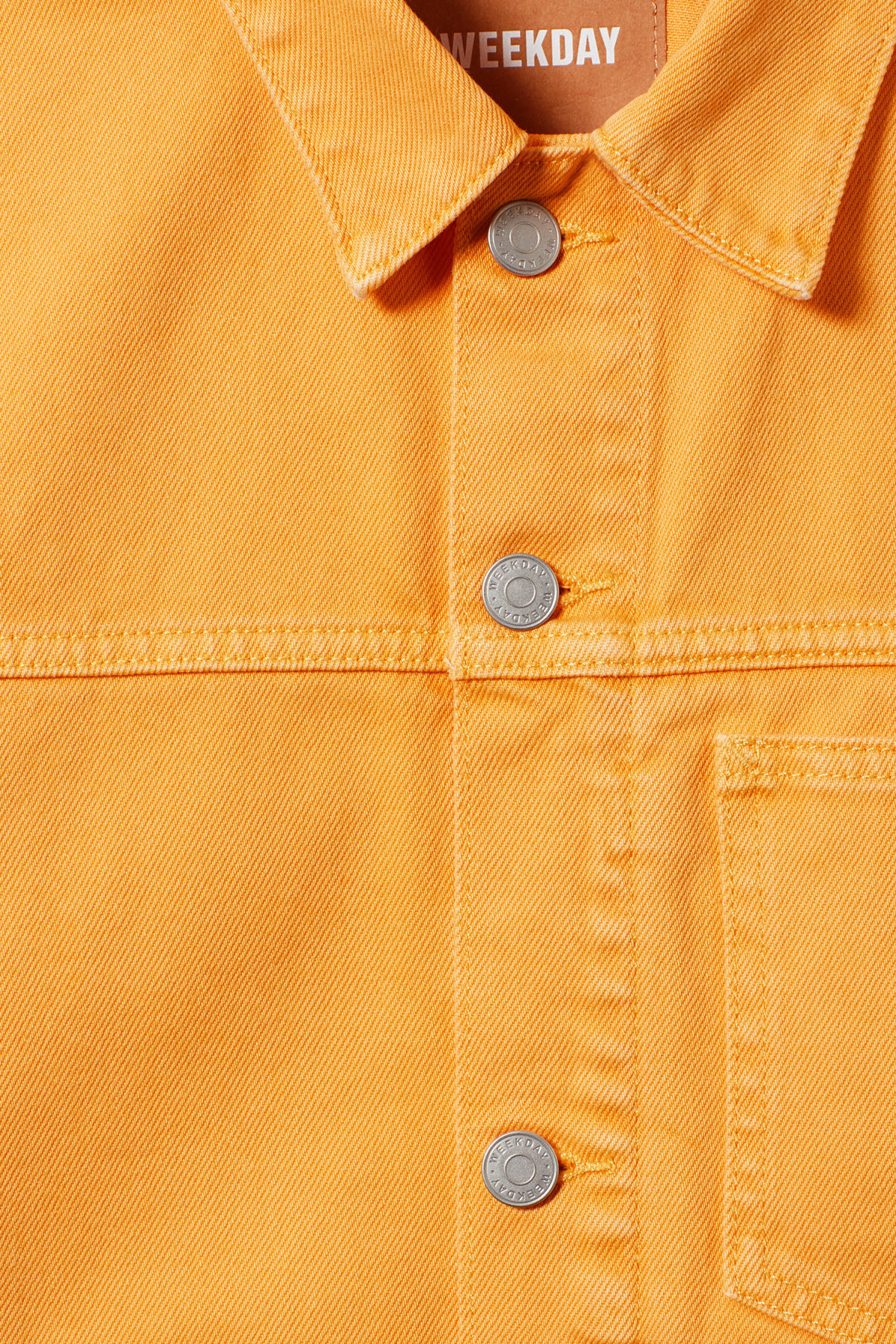 Detailed image of Weekday  in yellow