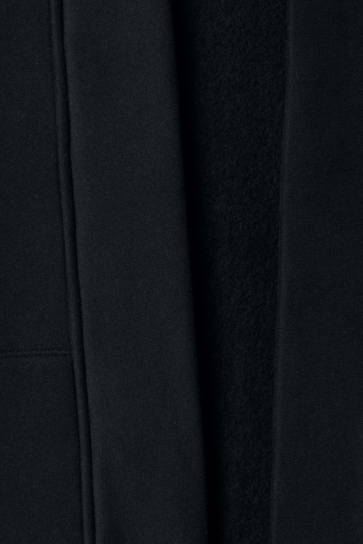 Detailed image of Weekday coin cardigan in black