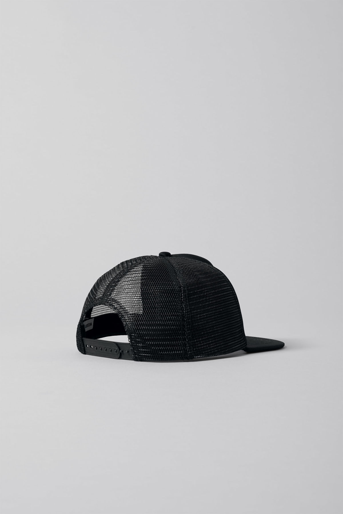 Detailed image of Weekday can cap in black