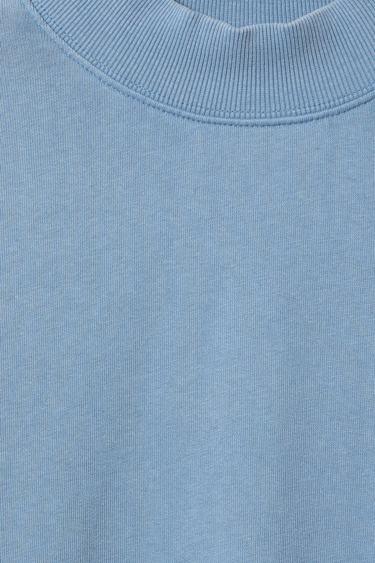 Detailed image of Weekday gaida sweatshirt in blue