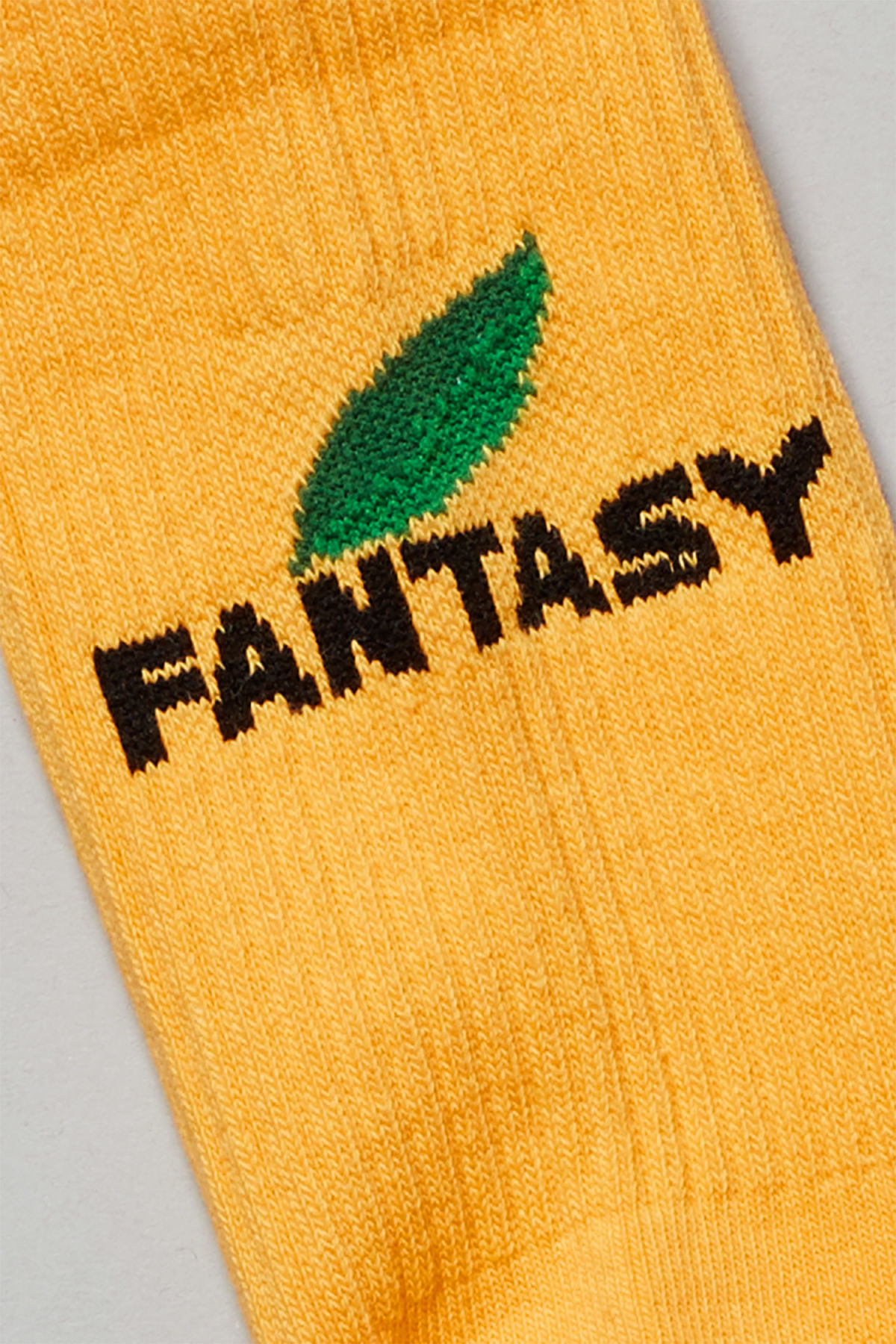 Detailed image of Weekday eleven socks in yellow