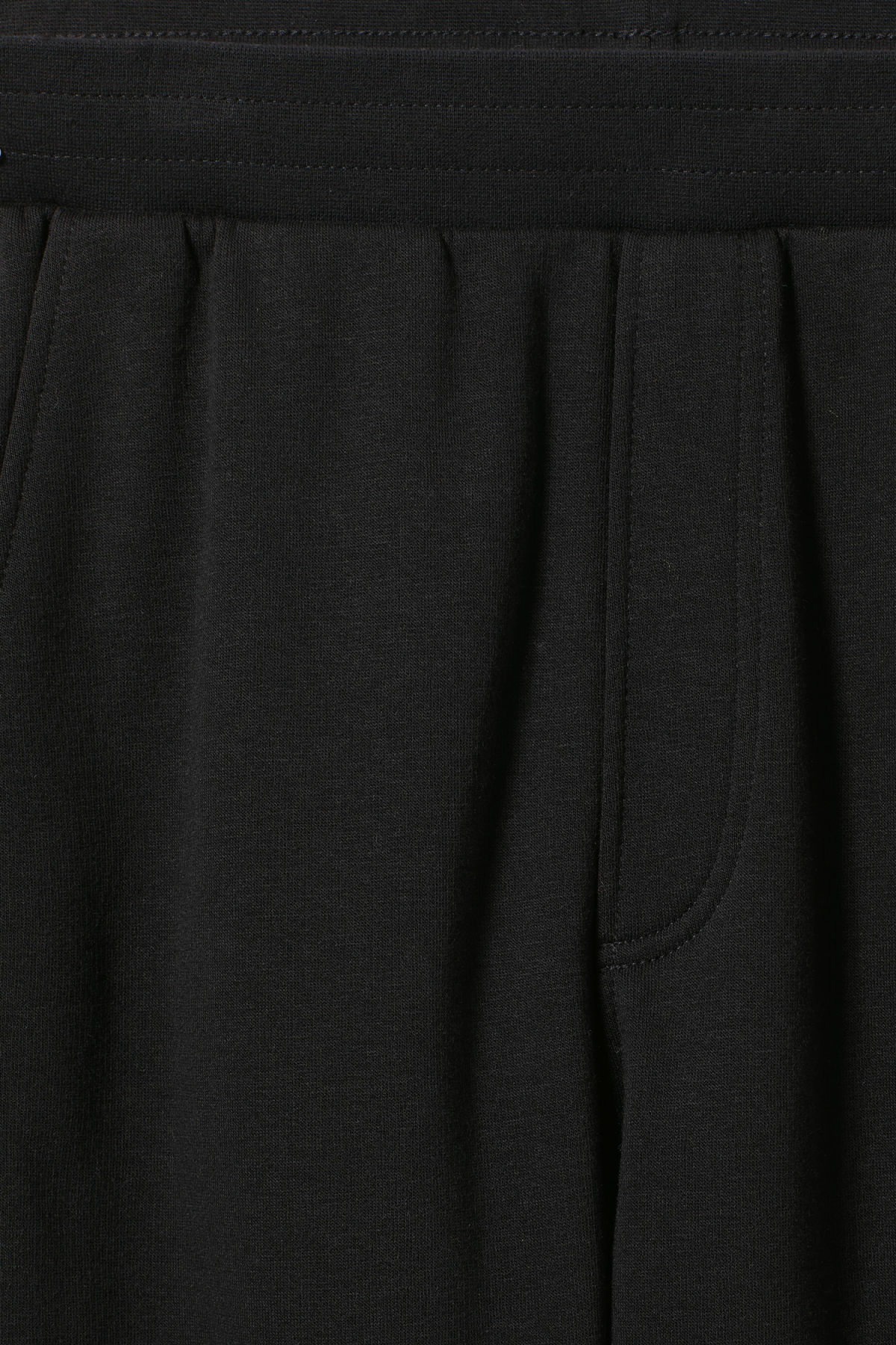 Detailed image of Weekday fast logo trousers in black