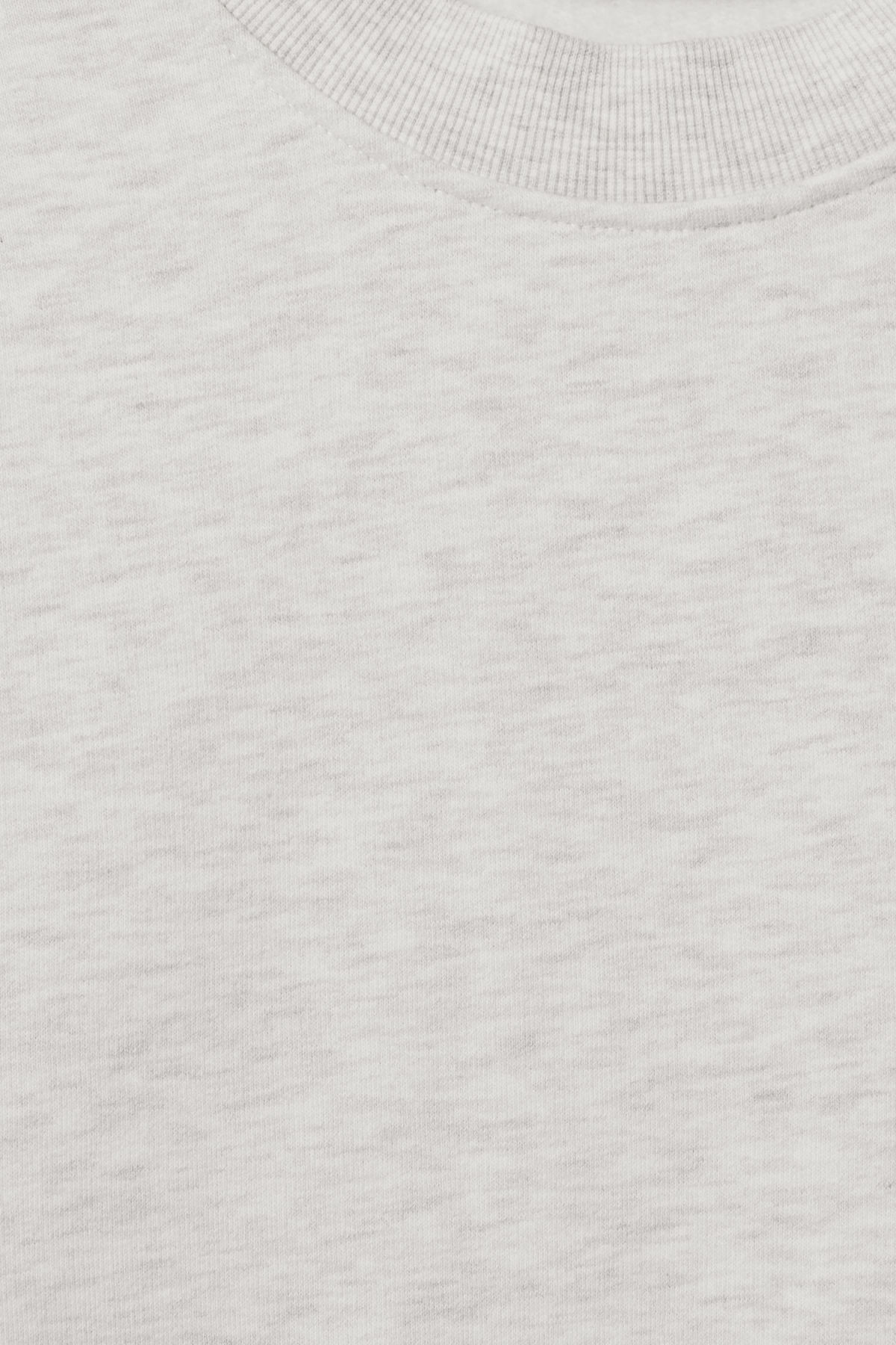 Detailed image of Weekday score sweatshirt in white