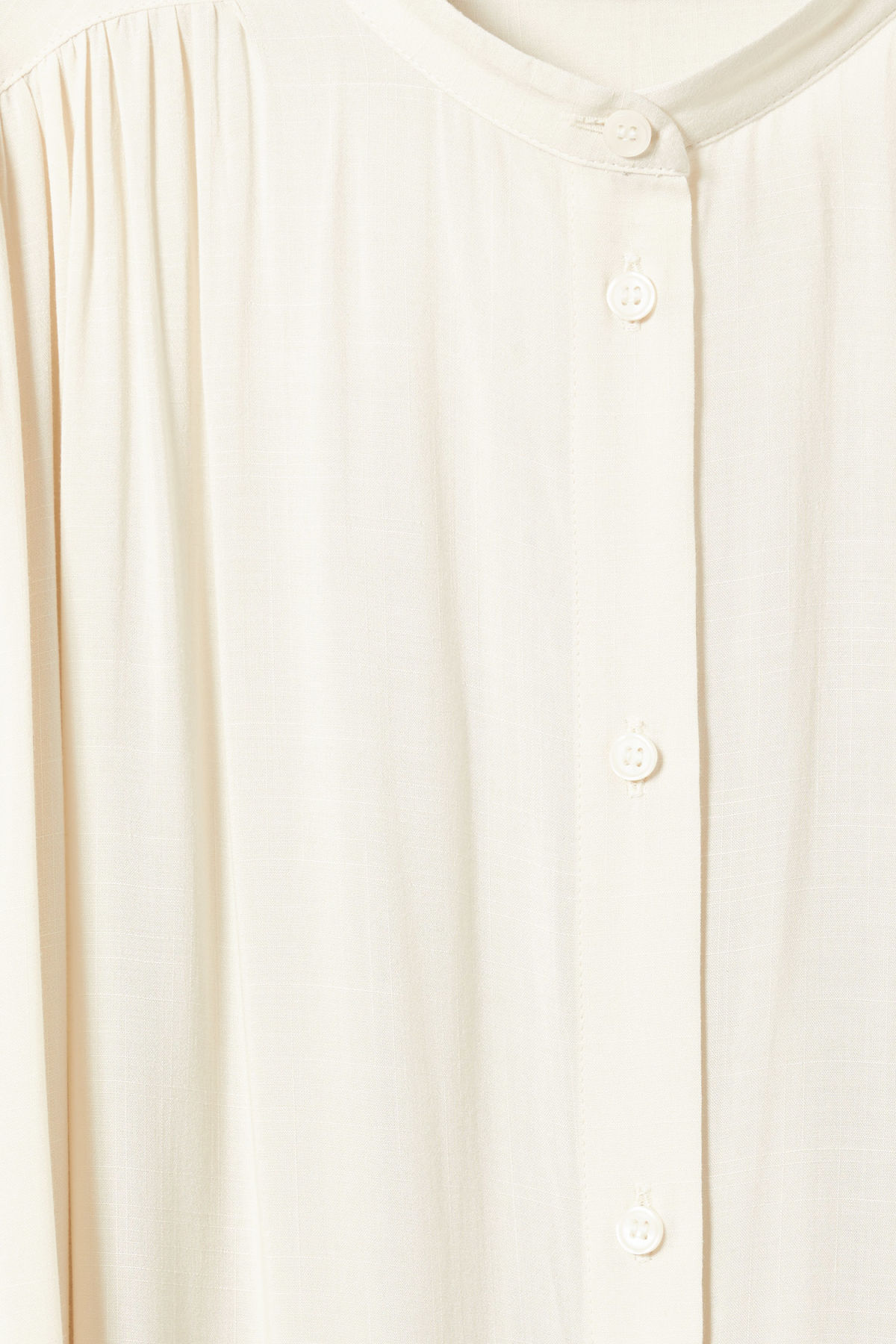 Detailed image of Weekday zena shirt in beige