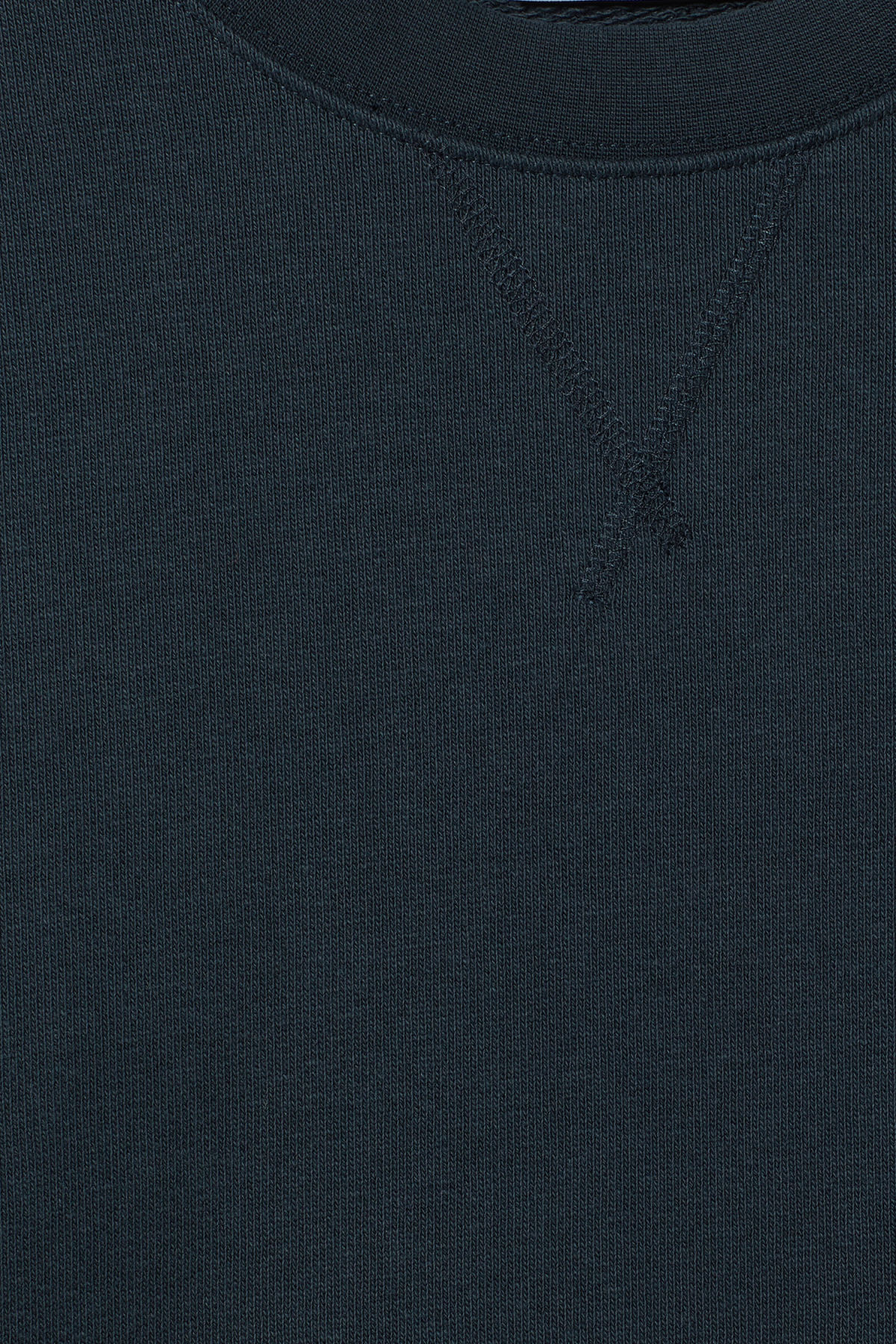 Detailed image of Weekday jeffrey sweatshirt in blue