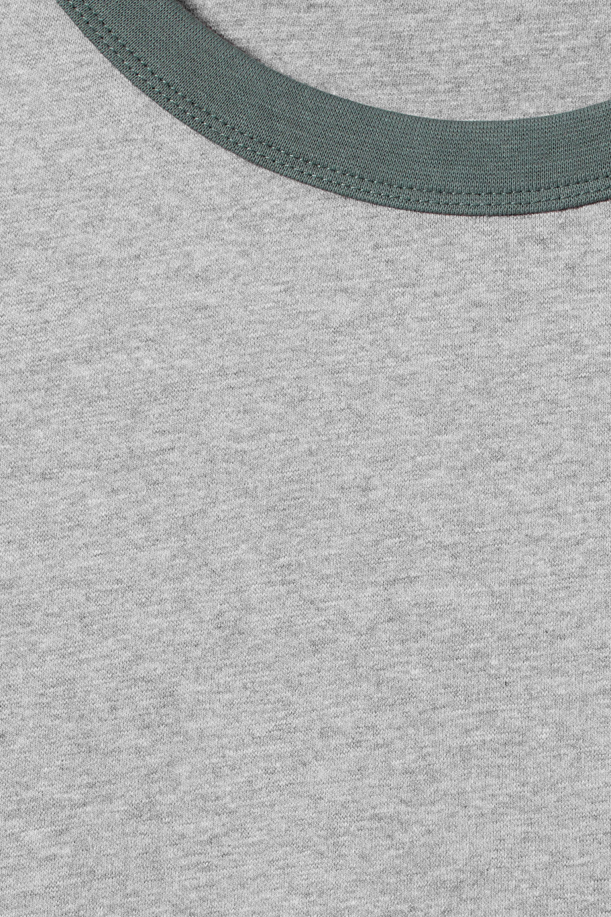 Detailed image of Weekday rupert long sleeve in turquoise