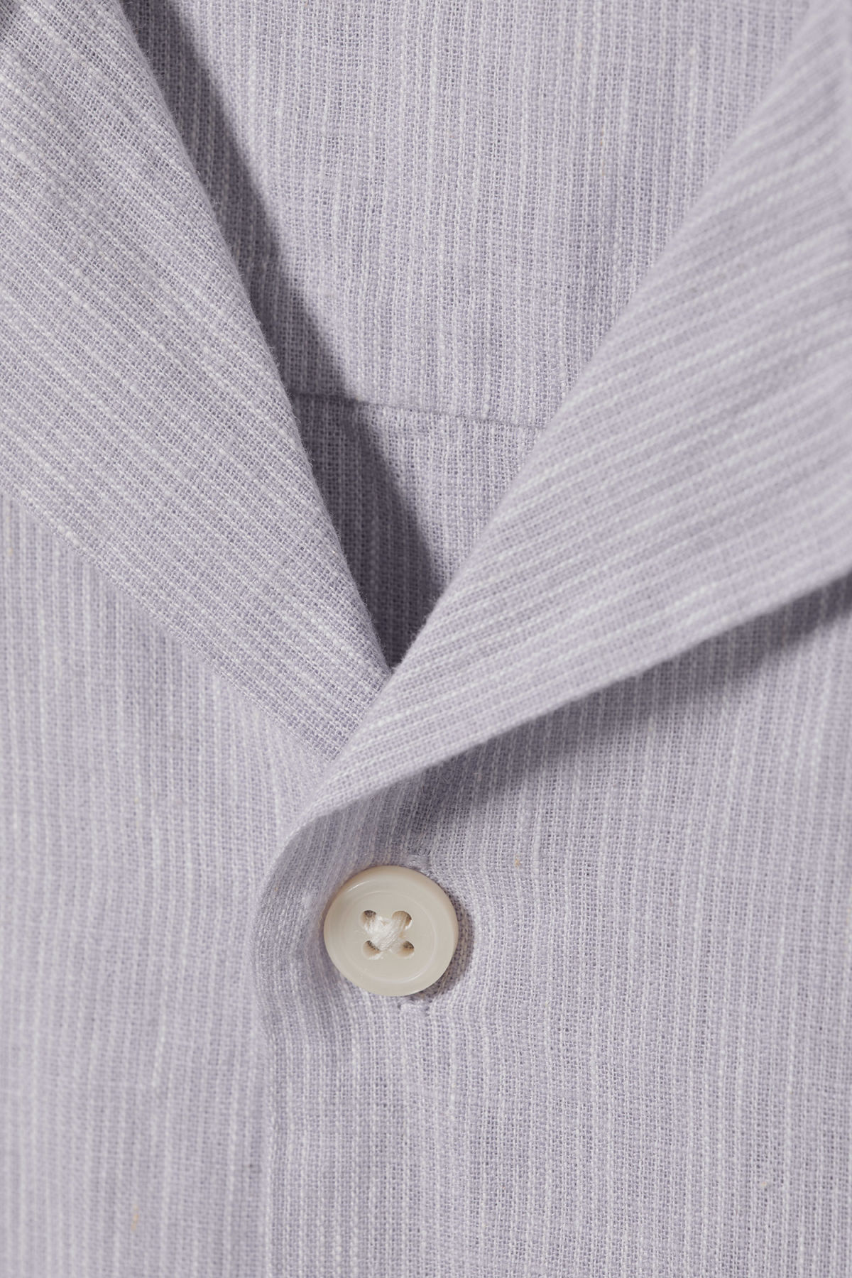 Detailed image of Weekday chill striped short sleeve shirt in purple