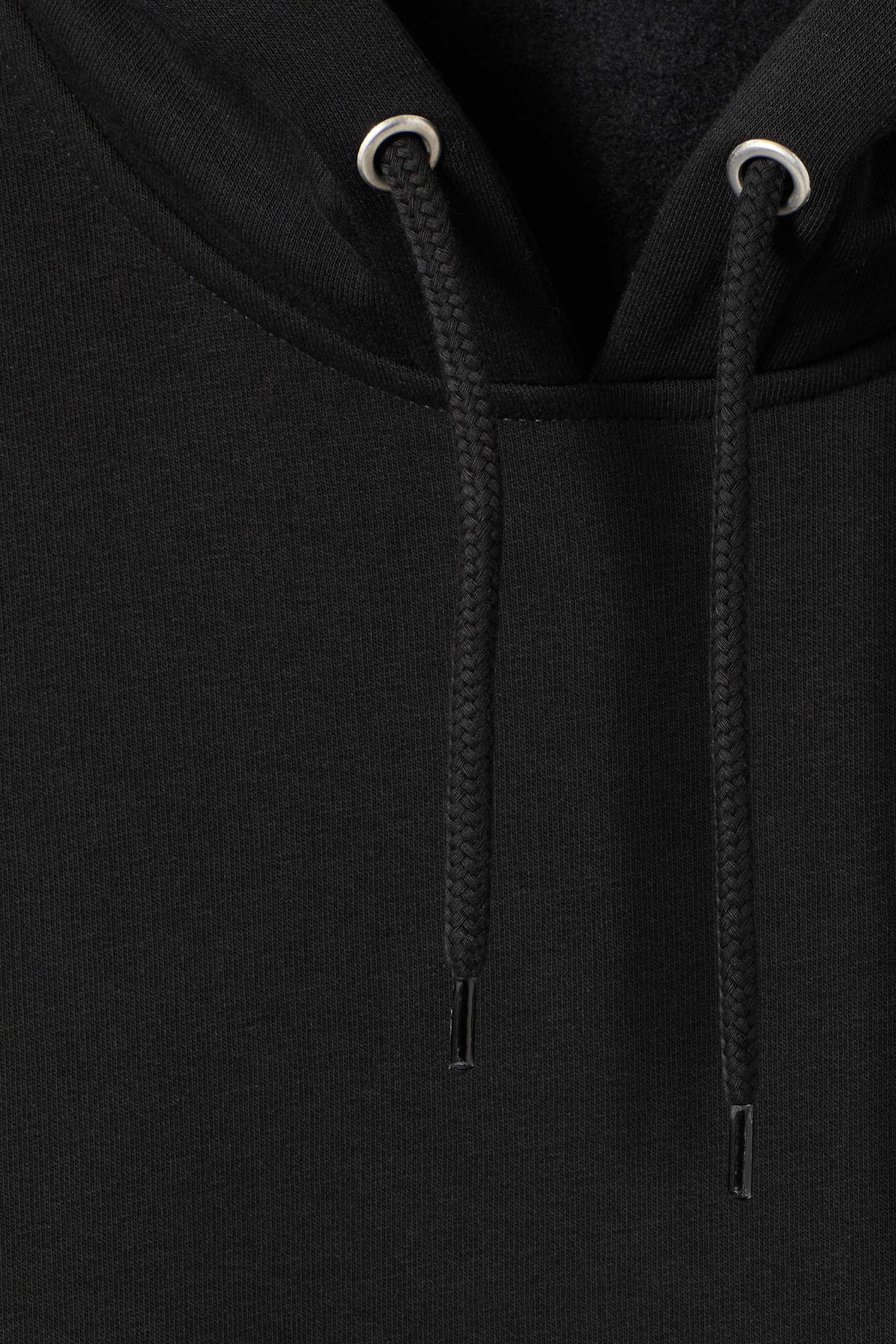 Detailed image of Weekday bird hoodie in black