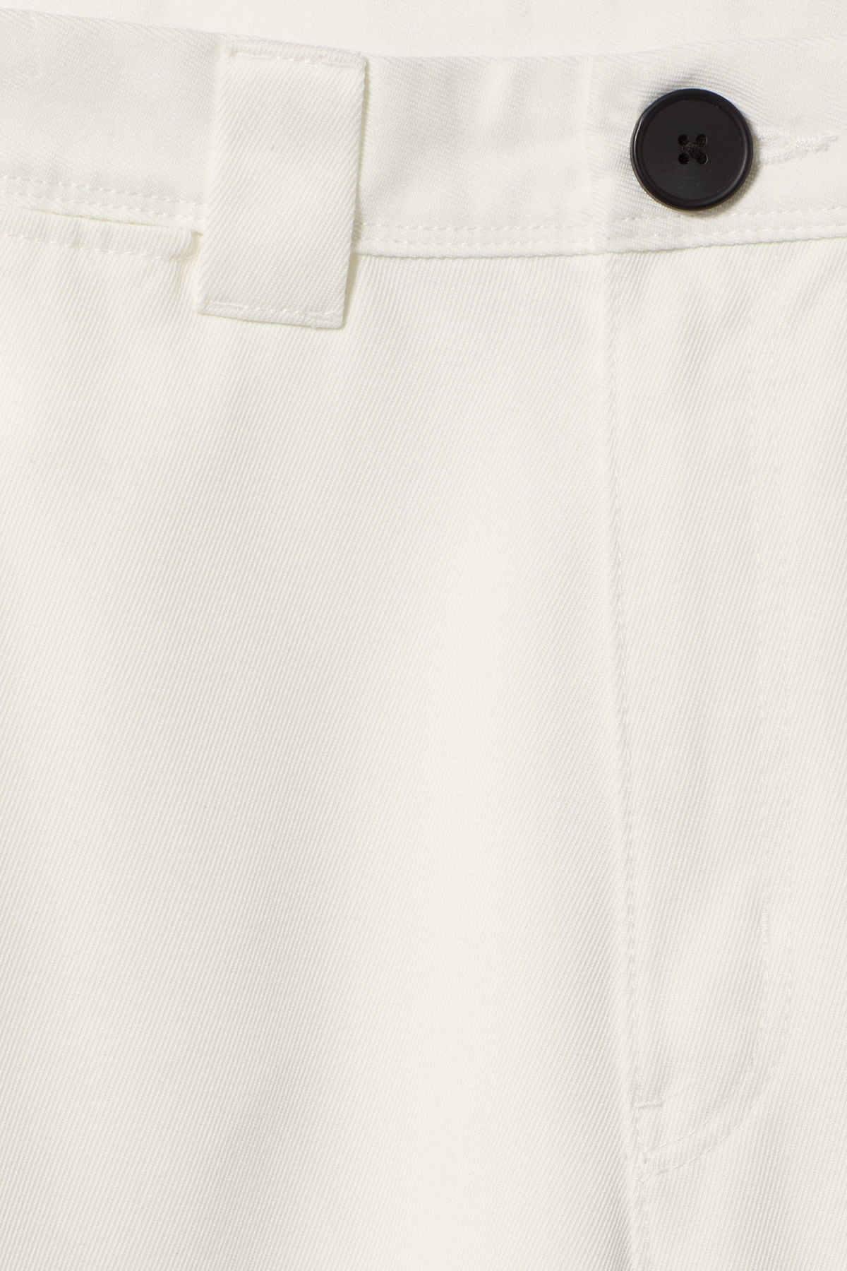 Detailed image of Weekday tilo trousers in white