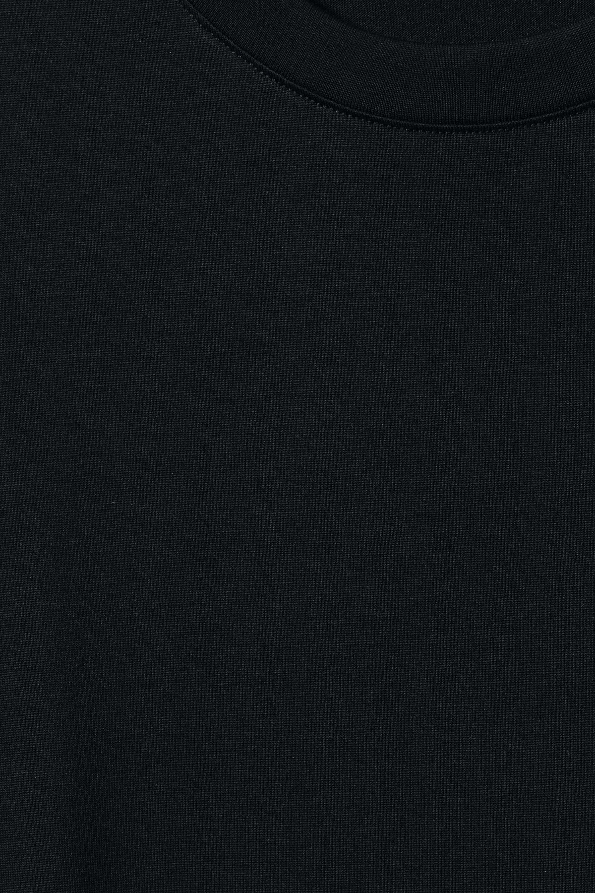 Detailed image of Weekday beyond long sleeve dress  in black