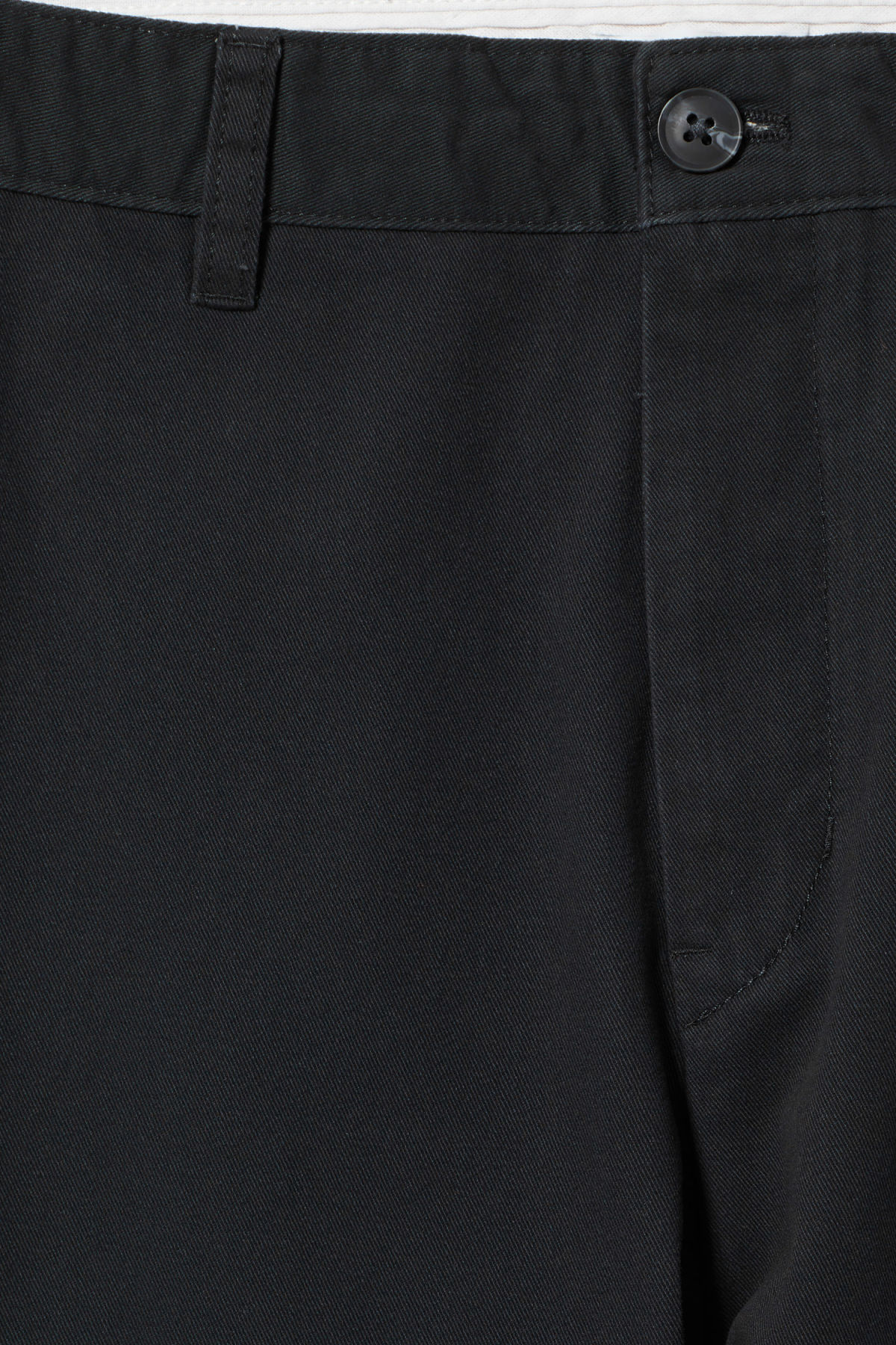 Detailed image of Weekday kaj chinos in black