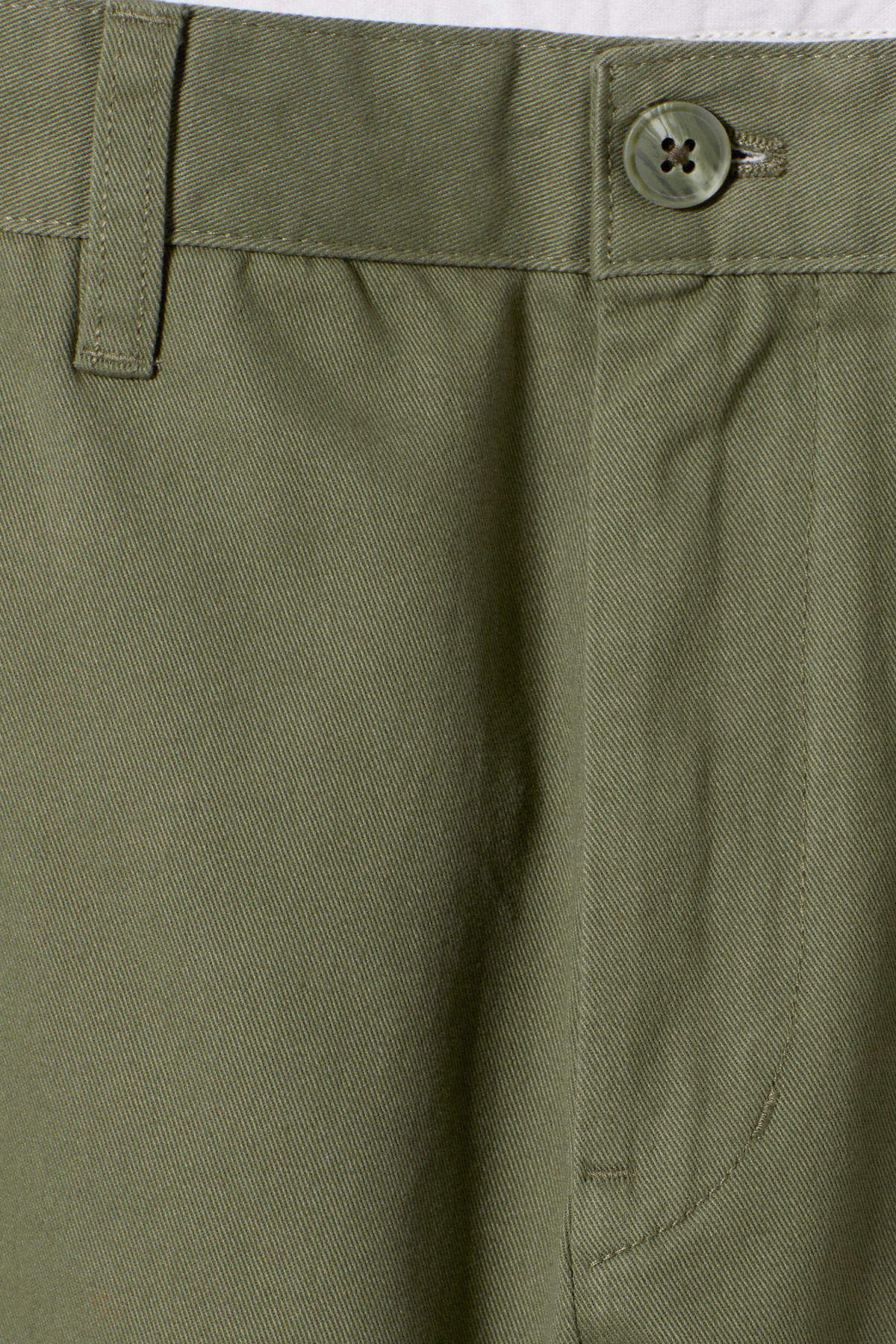 Detailed image of Weekday kaj chinos in green