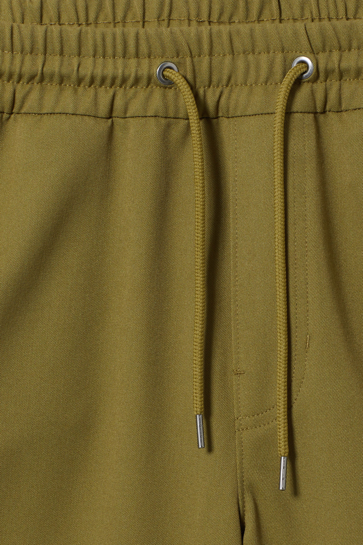Detailed image of Weekday alf shorts  in green