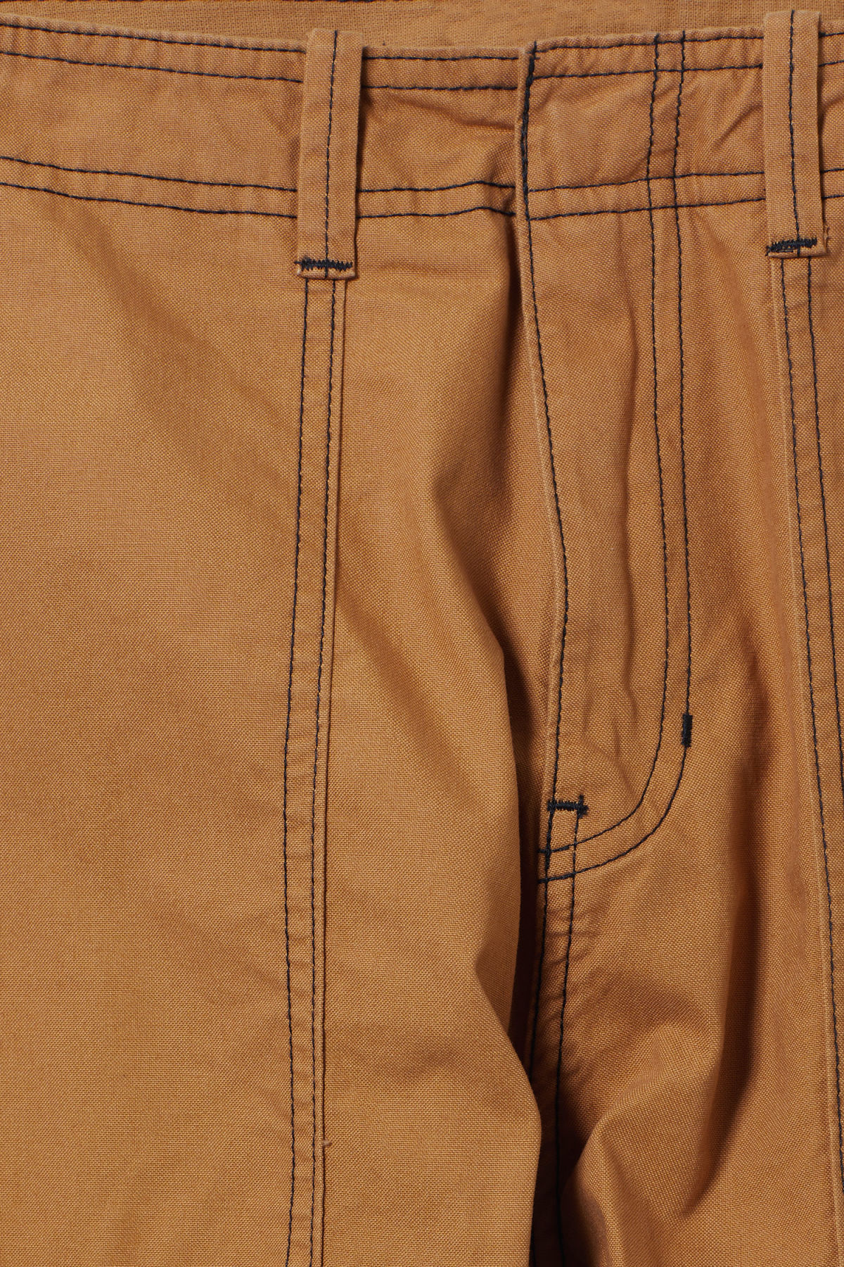Detailed image of Weekday fowler chinos in yellow