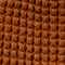 Fabric Swatch image of Weekday trap knitted hat in orange