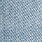 Fabric Swatch image of Weekday thursday reused blue cut jeans in blue