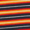 Fabric Swatch image of Weekday home stripes t-shirt  in red