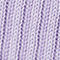 Fabric Swatch image of Weekday cris rib long sleeve top in purple